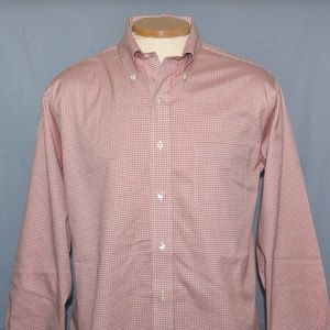 Brooks Brothers Checkered Button Down Size 16-2/3